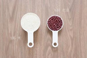 红豆饭材料